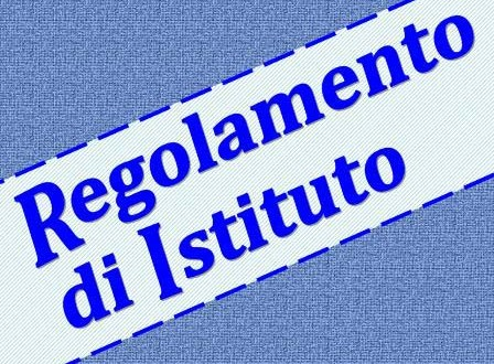 Regolamento d'istituto a.s. 2014/2015